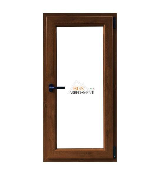 Infissi in pvc effetto legno finestra 1 anta online bgs - Stock finestre pvc ...