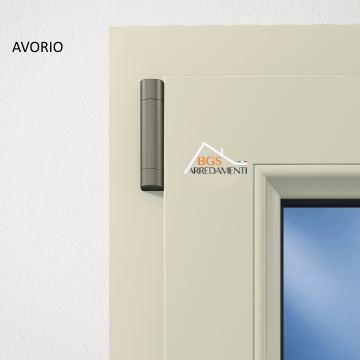 Infissi in pvc porta finestra 2 ante online bgs arredamenti - Costo porta finestra pvc ...