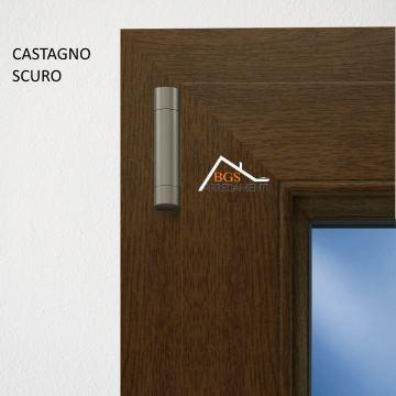 Infissi in pvc effetto legno finestra 2 ante online bgs for Infissi pvc legno